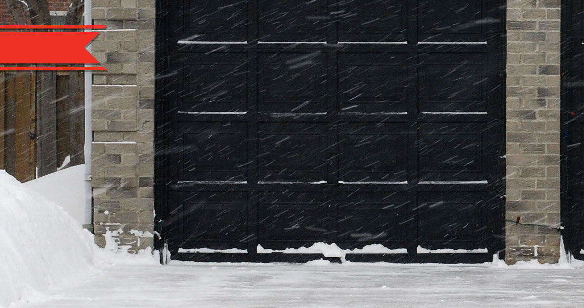& 5 Ways To Prevent A Frozen Garage Door | Overhead Door Company of Fargo